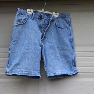 Authentic Wrangler Blue Denim shorts